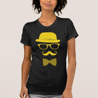 Hipster do senhor camiseta