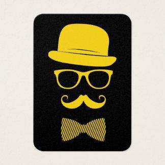Hipster do senhor cartão de visita grande