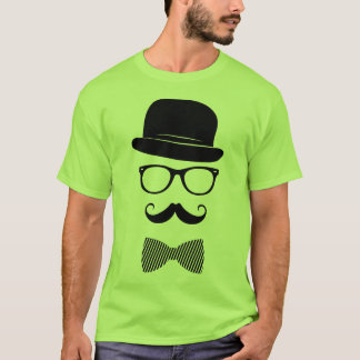 Hipster elegante t-shirt