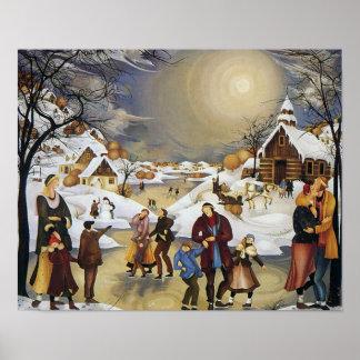 História do inverno de Rajka Kupesic Poster