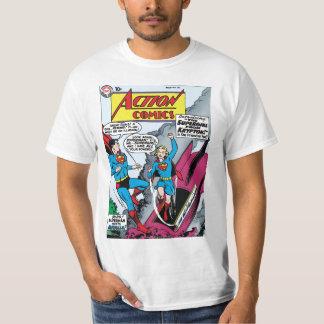 História em quadrinhos de ação #252 camisetas