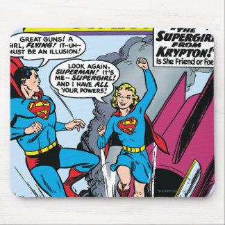 História em quadrinhos de ação #252 mousepads