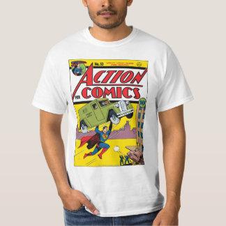 História em quadrinhos de ação #33 t-shirt