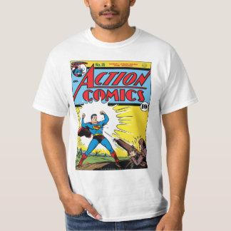 História em quadrinhos de ação #35 camiseta