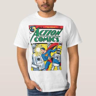 História em quadrinhos de ação #36 camisetas