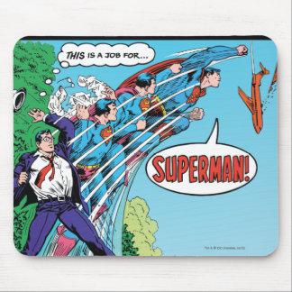 História em quadrinhos de ação #426 mouse pad