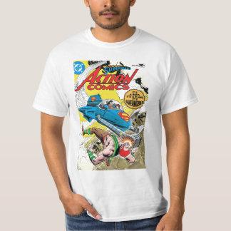História em quadrinhos de ação #481 camisetas