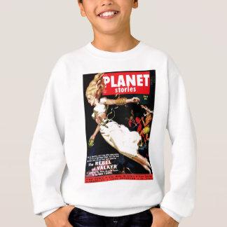 Histórias do planeta - rebelde de Valkyr T-shirts