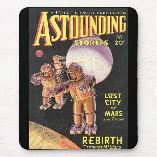Histórias surpreendentes cómicas 1934 de Sci Fi do Mouse Pads