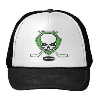 hockey skull boné