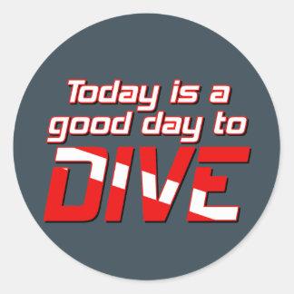 Hoje é um bom dia a mergulhar adesivo