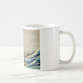 Hokusai - a grande onda fora de Kanagawa Caneca De Café