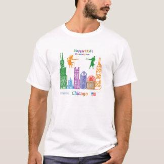 Holi feliz Chicago T-shirts