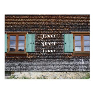 """""""home Sweet home"""" de Postcard Cartão Postal"""