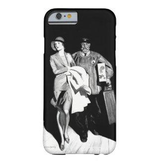 Homem da bagagem da mala de viagem do Bellhop da Capa Barely There Para iPhone 6