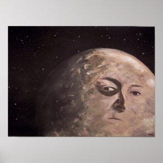 Homem da lua pôster