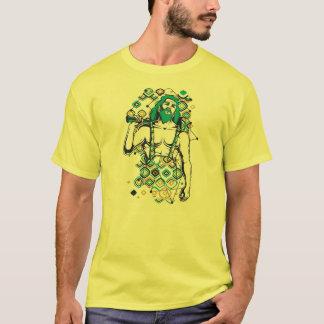 Homem das cavernas t-shirt