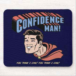Homem de confiança! mouse pad