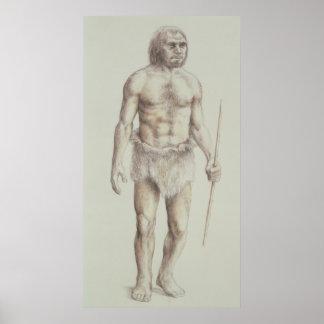Homem de Neanderthal Poster