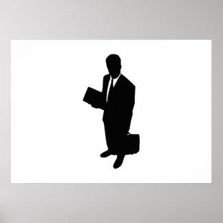 Homem de negócios poster
