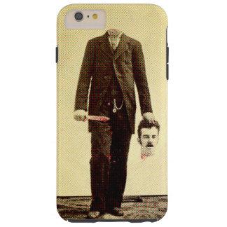 Homem decapitado Auto Capa Tough Para iPhone 6 Plus
