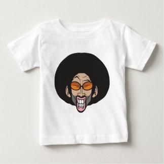 Homem do Afro de Hiphop Camisetas