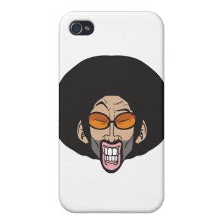 Homem do Afro de Hiphop Capas iPhone 4