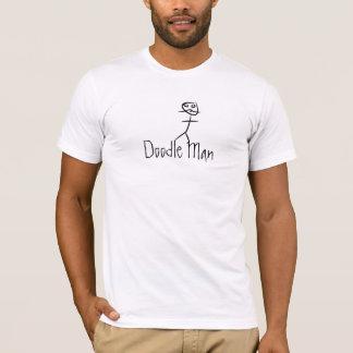 Homem do Doodle Camiseta