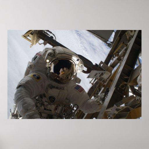 Homem do espaço pôsteres