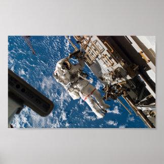 Homem do espaço impressão