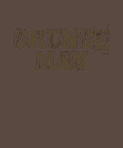 Homem do Grunge Camisetas