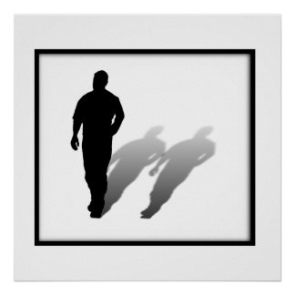 Homem faltante do homem poster
