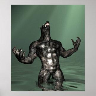 Homem-lobo em JungleWaters Poster
