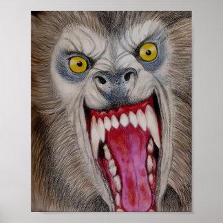 Homem-lobo Pôster