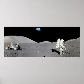 Homem na lua poster