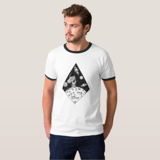 Homem na lua t-shirts