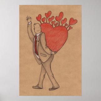 Homem no amor posteres
