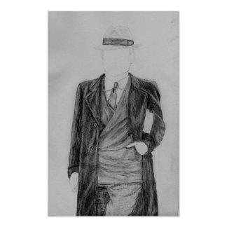Homem sem cara pôster