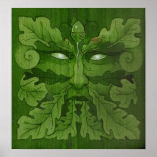 Homem verde poster
