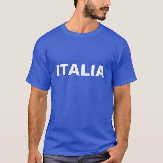 Homens azuis e ITALIA branco Tshirts