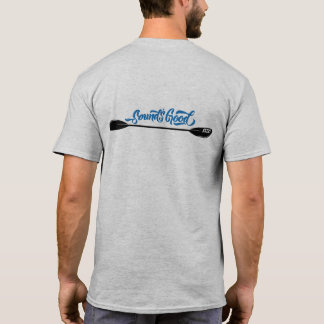 Homens da pá do caiaque do som o T dos bons Camiseta