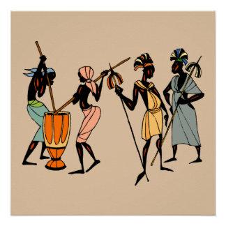 Homens de Kenya Poster Perfeito