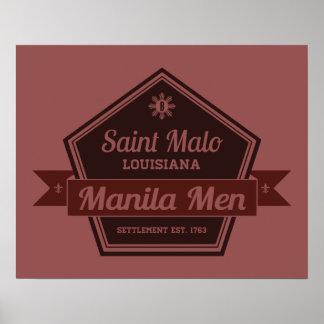 Homens de Manila Pôster
