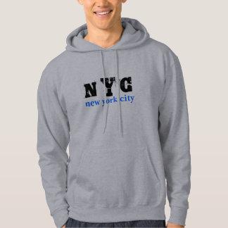Homens do azul da Nova Iorque de NYC Moletom