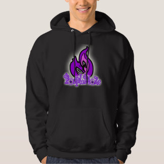 Homens do hoodie do logotipo do dragão do fogo da moletom com capuz