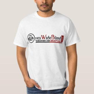 homens do promocional de EyesWideBlind.com Camiseta