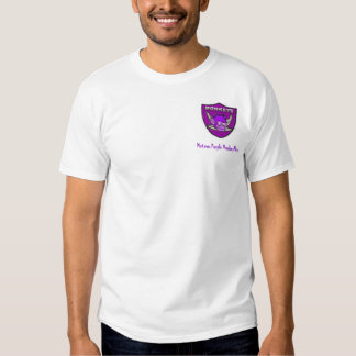 Homens roxos do macaco de Motown T-shirts