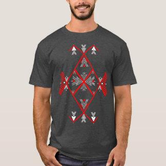Homens vermelhos da camisa do design T de Amazigh