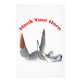 Honk seu chifre papelaria