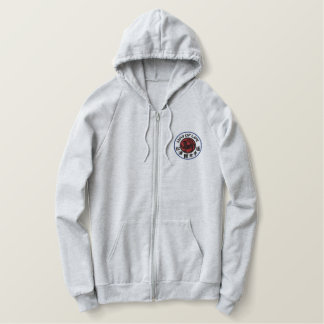 Hoodie bordado Shotokan do modo de vida Moletom Bordado Com Capuz